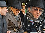 Retro is the only way to go: Spielberg rocks a classic fedora hat