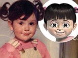 Throwback Thursday: JWoww took to her website with an image of herself as a cherubic child with pigtails, doe eyes, and chubby cheeks
