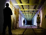 Abandoned tunnels: Krasnokamenka, in the Kiziltashsky valley, on the Crimean peninsula in Ukraine was once one of the Soviet Union's main nuclear warhead assembly workshops