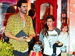 Planning the wedding? Kourtney Kardashian and Scott Disick leave dinner with Mason and Penelope in Calabasas on Thursday night; the two are said to be set to wed