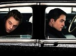 Driving Mr Dean: A first look image from movie Life sees Robert Pattinson's Dennis Stock driving Dane DeHaan, who plays James Dean, from Los Angeles to New York