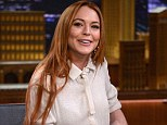 Read all about it! Lindsay Lohan, seen on The Tonight Show on Thursday, is in talks to sign a $1m deal to turn her rehab diary into a memoir