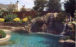 Large Natural Setting Swimming Pool