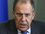 Russian foreign minister Sergei Lavrov today said the Ukrainian crisis had been created 'artificially' and accused the interim government of being in the control of right-wing extremists