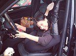 This is just getting silly! Hilaria Baldwin displays unbelievable flexibility as she sticks her head BETWEEN her thighs