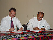 Signing of the Canberra Dili Friendship Agreemement