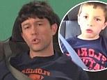 That's a bit cheeky! Joseph Gordon-Levitt recreates David After Dentist in hilarious spoof for Jimmy Kimmel Live