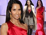 Padma Lakshmi ravishes in silky red gown at event after sporting a dowdier layered look during the day
