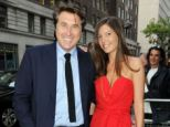 Rock star Bryan Ferry was divorced from his wife Amanda Sheppard (both pictured) yesterday
