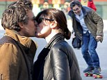 13 Going On 46! Mark Ruffalo jumps on a skateboard at playground with daughters after sharing a tender kiss with his wife