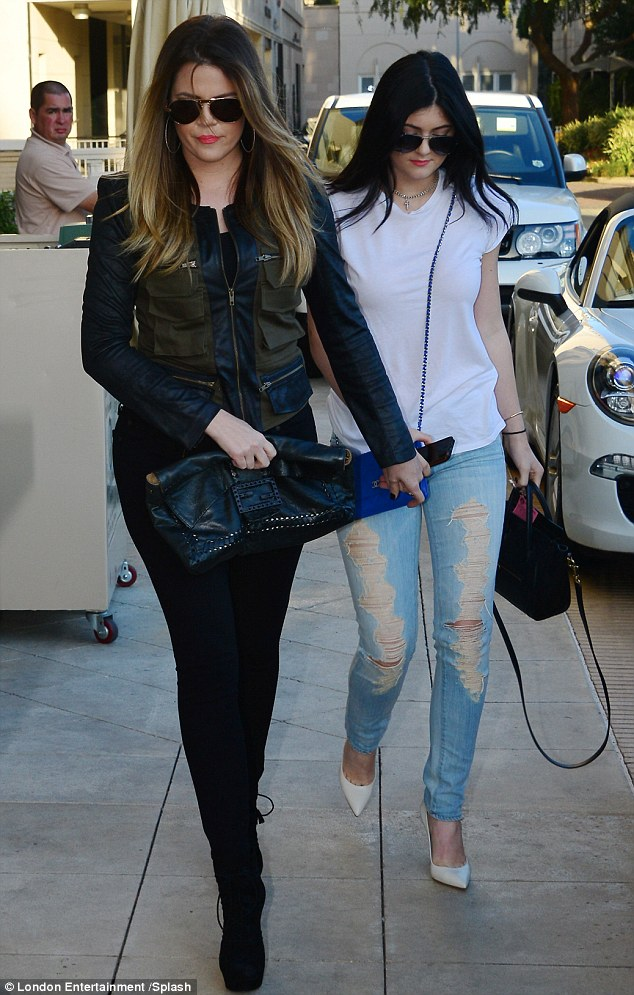 Thick as thieves: The girls are notoriously close, with Khloé often referring to the fact that she practically raised Kylie and Kendall, 18