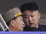 North Korean leader Kim Jong Un and Choe Ryong Hae (left) pictured in July last year, before rumours of a disappearance surfaced