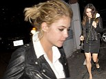 Double date: Ashley Benson and Vanessa Hudgens enjoyed an evening out with their respective boyfriends