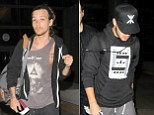 1d'S Liam Payne and Louis Tomlinson head to LA