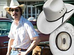 The cowboy hat Matthew McConaughey donned for his Oscar-winning role in Dallas Buyers Club is up for auction