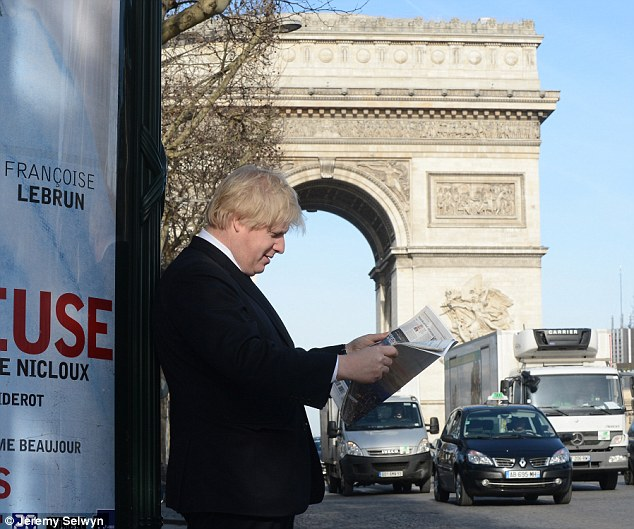 BoJo the Frenchman: Could the mop-headed mayor be offered a job across the Channel?