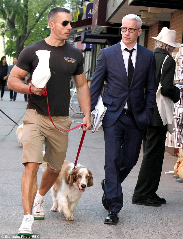 Together: Cooper has been dating night club owner Ben Maisani since 2009 (seen here in May 2013)