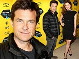 Jason Bateman dresses down while co-star Kathyrn Hahn dazzles in a black sleeveless dress at red carpet screening of Bad Words