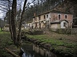 The village of Barrerios, near Pontevena is just one of 2,900 villages which lie abandoned in rural Spain and are being sold off for knock-down prices
