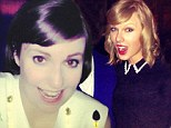 One of the Girls: Lena Dunham is joined by celebrity pal Taylor Swift at afterparty to celebrate Saturday Night Live hosting success