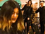Sure you're just friends? Kylie Jenner steps out for sushi with Jaden Smith... who wears his Karate Kid headband