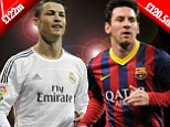 Ronaldo beats Messi AGAIN! Real star tops football rich list