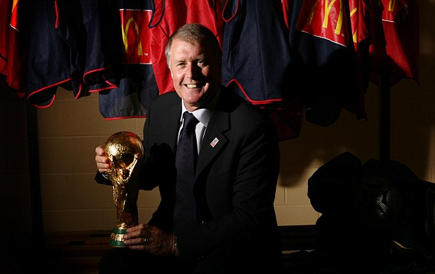 Eyes on the prize: World Cup winner Sir Geoff Hurst, who is now McDonald's Director of Football, believes it's not too late for fringe players to win a call-up