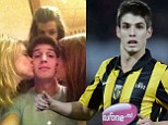 Popular: Lucas Piazon took to Twitter to celebrate International Women's Day