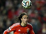 Wanted: Liverpool sent their chief scout to watch Benfica's Lazar Markovic (left) play for Serbia last week