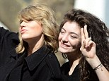 Friends reunited! Taylor Swift and Lorde hang out once again as they pull silly poses together in New York