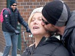 The love is alive! Hugh Jackman was seen kidding his wife Deborra-Lee Furness outside of their kids' school in New York City on Friday