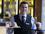 Expensive tastes: The layered creation isn't on the restaurant's menu the kitchen will take orders for people who want to sample the dish - and have a spare £800
