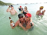Morning drinking: Two thirds of cruise passengers start their day with an alcoholic beverage, according to a study