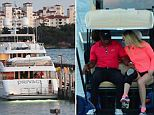 Woods and Vonn were spotted boarding his boat, called Privacy, on Sunday night in Miami Beach after he played in the Cadillac Championship tournament.