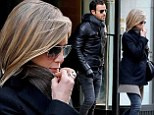 Reunited! Jennifer Aniston and Justin Theroux have NYC lunch date in their first public outing since December