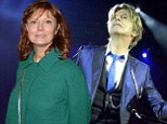 Susan Sarandon and David Bowie