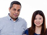 Muktesh Mukherjee, 42, and his wife Xiaomao Bai, 37, were on the missing Malaysia Airlines