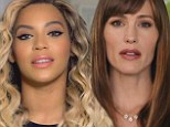 Public service: Beyonce joined other stars to promote a ban of the word 'bossy'