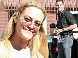 Cracking the whip! Peta Murgatroyd wears 70s inspired outfit as she and partner James Maslow are first to arrive for Sunday morning DWTS rehearsals