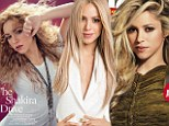 Cover girl: Shakira graced the cover of the March 15 edition of Billboard magazine and the April editions of Latina and People En Espanol