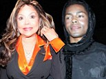Getting to know 'Auntie' LaToya: Michael Jackson's 'love child' Brandon Howard enjoys a night out with the singer's sister