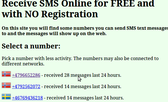 How to Receive SMS Online to bypass SMS verification?