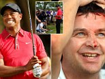 Not again, Tiger! Woods hit ANOTHER fan with wayward tee shot