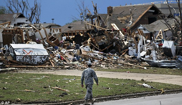 Nothing left: For many their entire lives have been wiped out by the storm