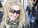 How bold of you! Madonna revealed wet hair and a bare face as she left Pilates in West Hollywood, California on Monday