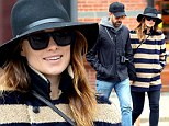 A simple celebration! Pregnant Olivia Wilde marks her thirtieth birthday with a quiet lunch with husband-to-be Jason Sudeikis