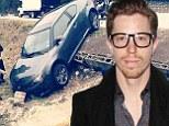 'Really Lena?': Shaun White posts 'joke' car crash snap confusing fans into thinking his band Bad Things had been involved