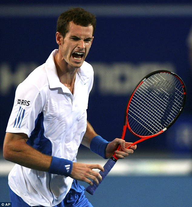 Gabby Logan said he she had not been on live TV she would have told Andy Murray to cheer up