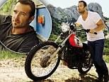 Rising star: Australian actor Sullivan Stapleton posed up for Men's Health's April cover