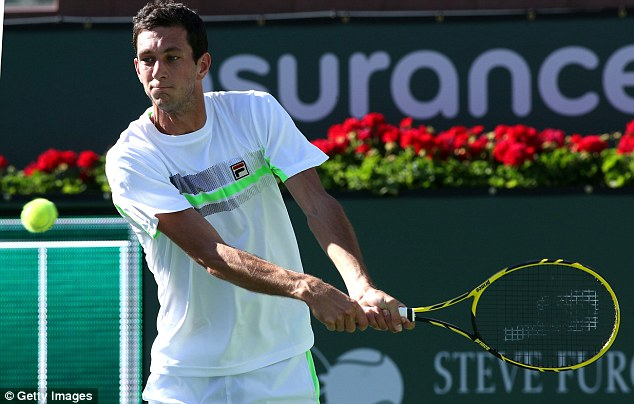 Valiant effort: James Ward was defeated in three sets by Feliciano Lopez in his debut Masters 1000 event